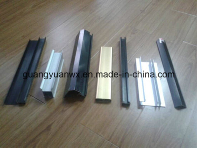 Powder Coated Paint Aluminum Extruded Profile for Windows and Doors