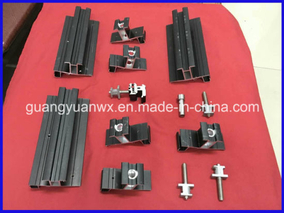 Aluminium Extrusion Profile Tubing 6005 for Solar Brackets and Panel