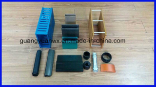 Color Anodized Aluminum Extruded Profile Tube for Radiator 6063
