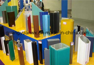Aluminum Extruded Powder Coated Profile Tube/Pipes