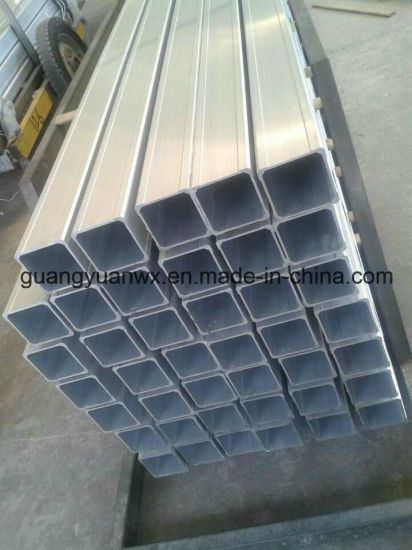 Powder Coated Aluminum Square Tube/Pipes 6063 T5 6061 T6