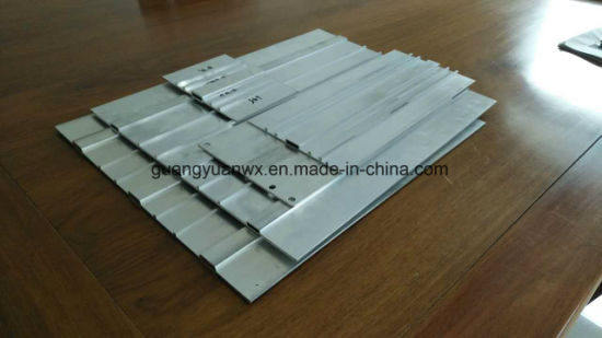 6060 T66 Anodized Industrial Aluminium Profile Tubes for Railway