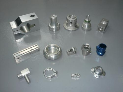 Plastic Coated Light Decorative Aluminum Machining Parts