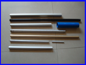 Mandrel Bent Tapered Threaded Aluminum Tube